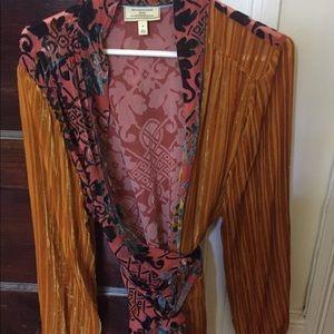 Velvet Kimono/ Anthropologie